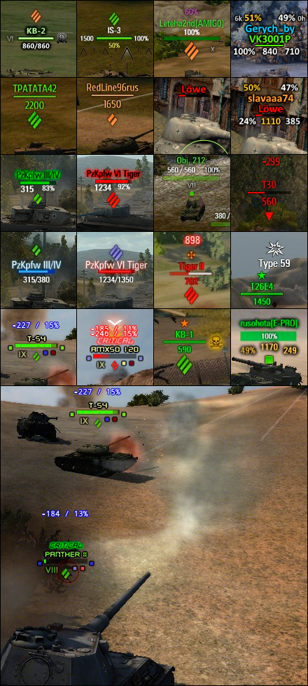 xvm extended visualization mod for world of tanks
